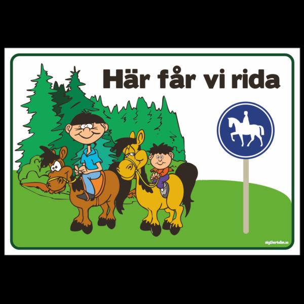 RIDANPASSAT OMRÅDE