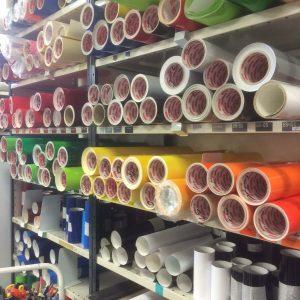 Vinyler i olika färger