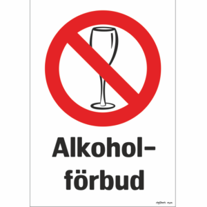 förbud mot alkohol