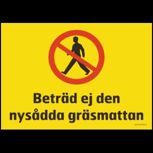 förbudsskylt