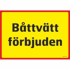 FÖRBUDSSKYLTAR ÖVRIGA