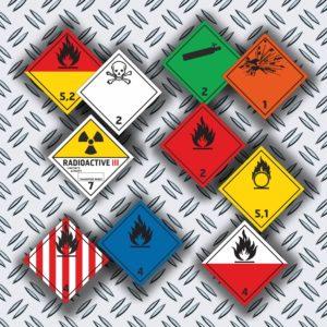 Farligt godsmärkning / Farosymboler