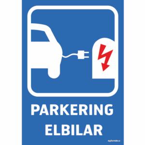 trafik och parkeringsskyltar