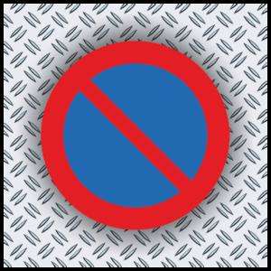 Trafikskyltar förbud och varning