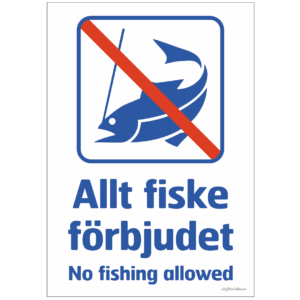 fiskeförbud